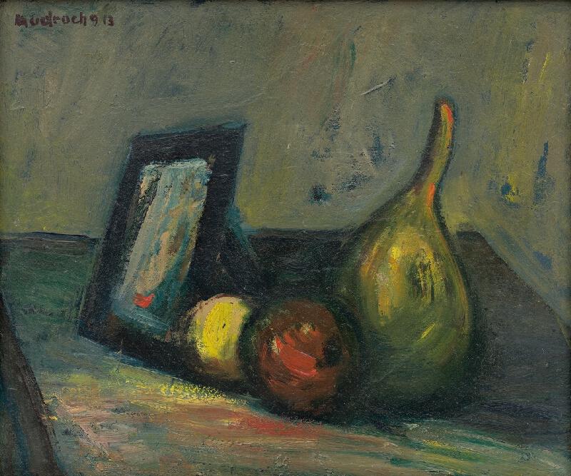 Ján Mudroch - Zátišie so zrkadlom