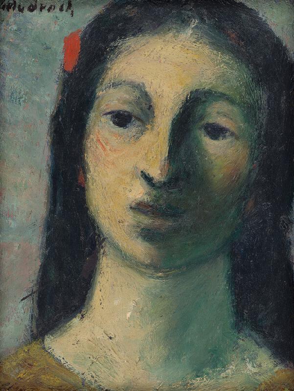 Ján Mudroch - Hlava ženy