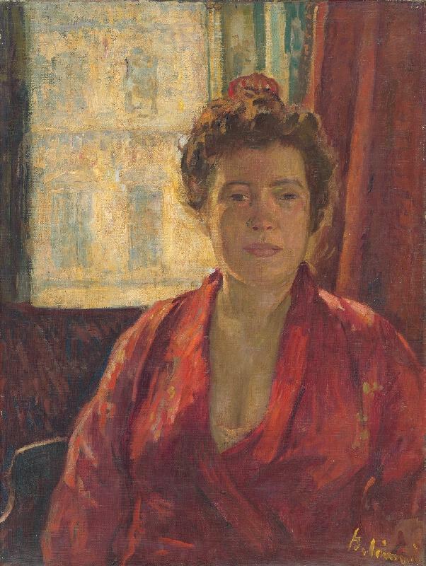 Viktor Belányi - Portrét pani Belányiovej