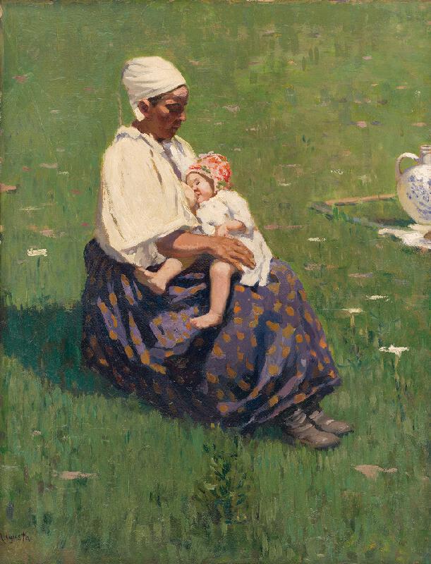 Jaroslav Augusta - Dojčiaca matka