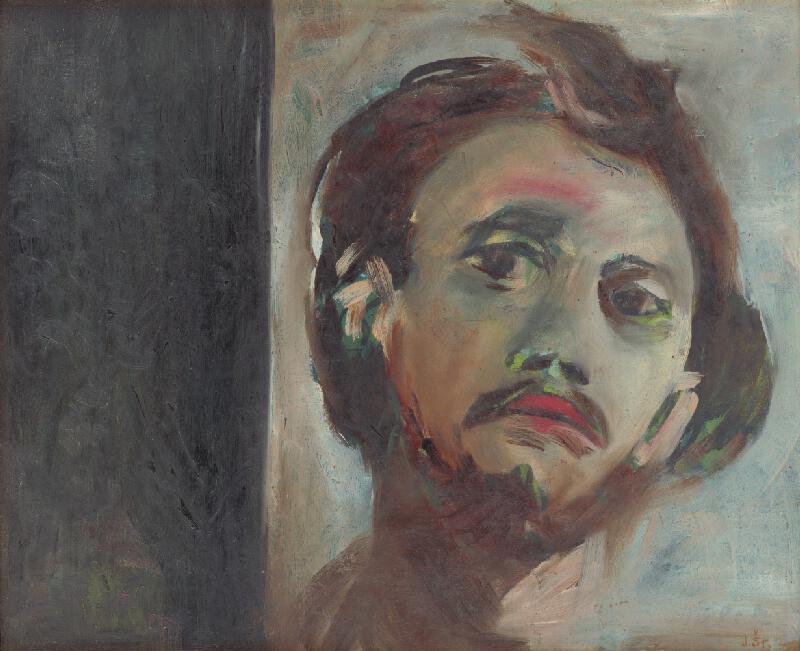 Jozef Šturdík - Hlava - autoportrét