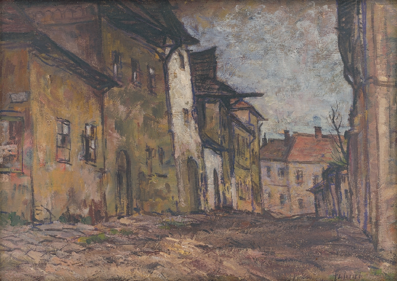 Jozef Fabini - Ulička v Levoči