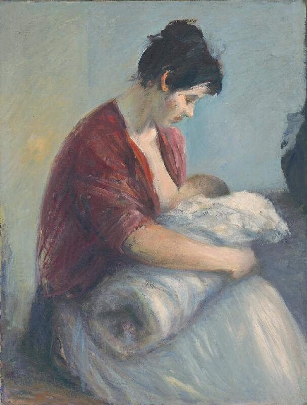 Ján Mudroch - Dojčiaca matka