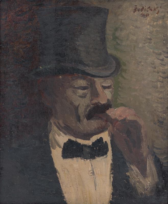 Ján Želibský - Pán s cigarou