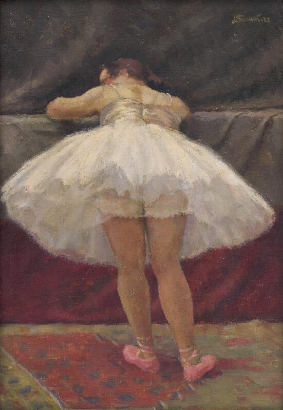 Ladislav Treskoň - Odpočívajúca baletka