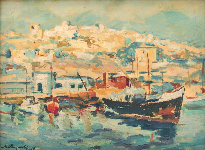 Mikuláš Rogovský - V prístave Pireus