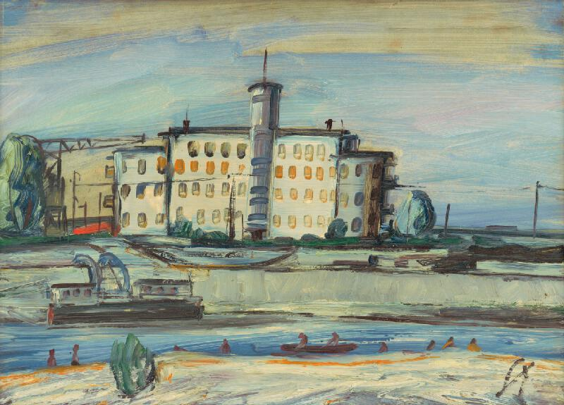 František Studený - Letný prístav