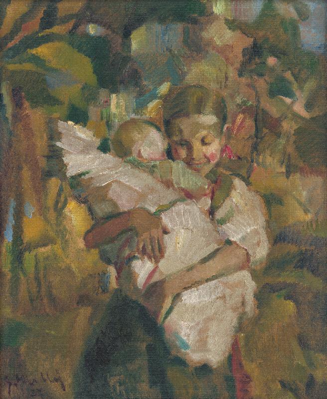Gustáv Mallý - Malá pestúnka