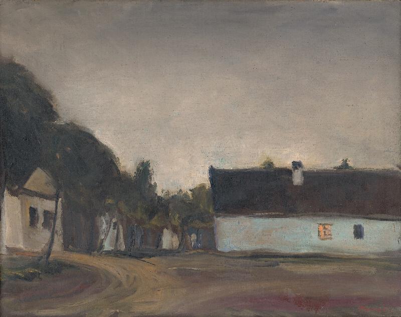 Jozef Kollár - Podvečer na dedine