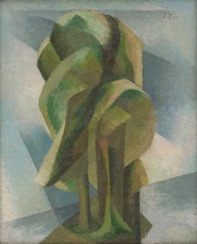 Ester Šimerová-Martinčeková – Stromy, 1935, Slovenská národná galéria