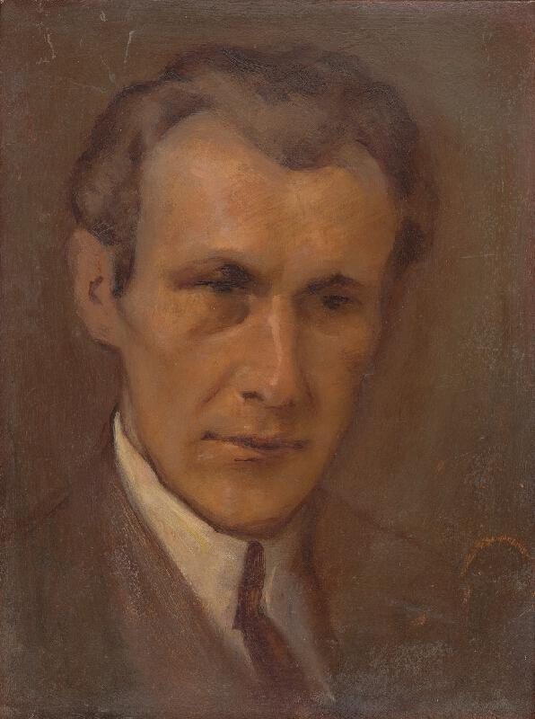 Milan Thomka Mitrovský - Portrét mladého muža