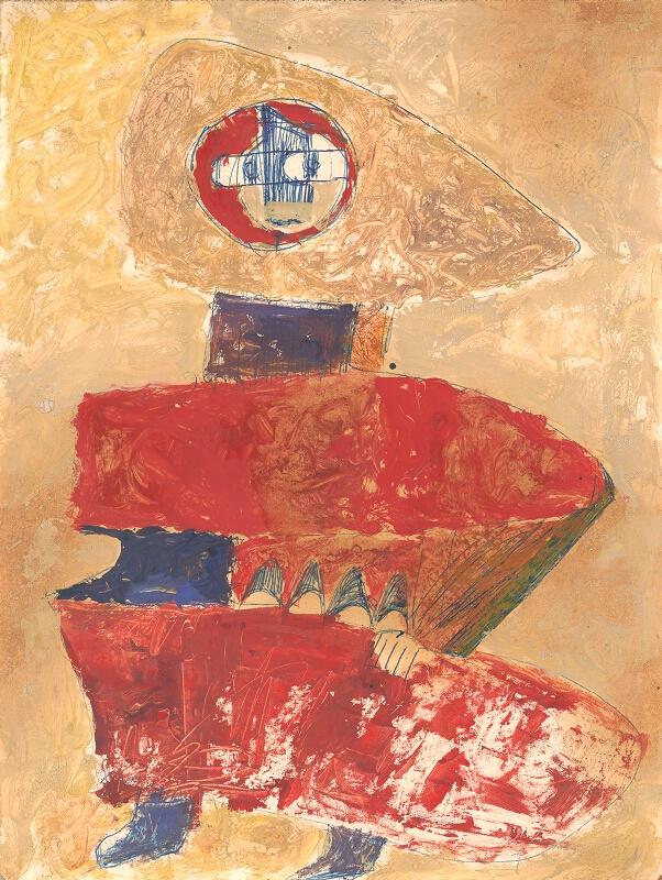 Andrej Rudavský - Žena z katakomb