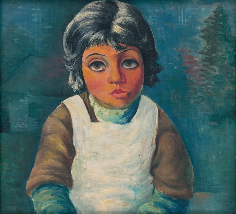 František Reichentál - Dievčatko