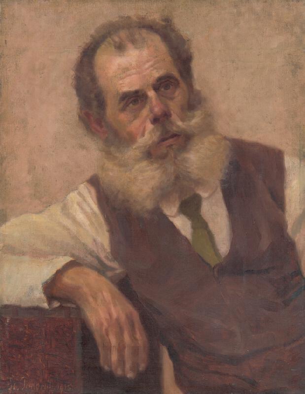 Štefan Polkoráb - Muž s bradou