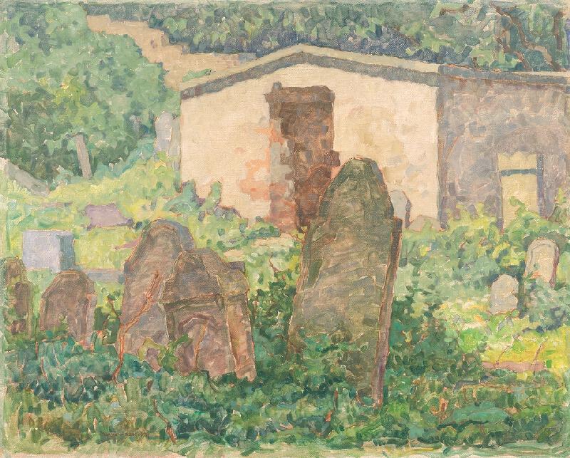 Július Koreszka - Mohyly na židovskom cintoríne