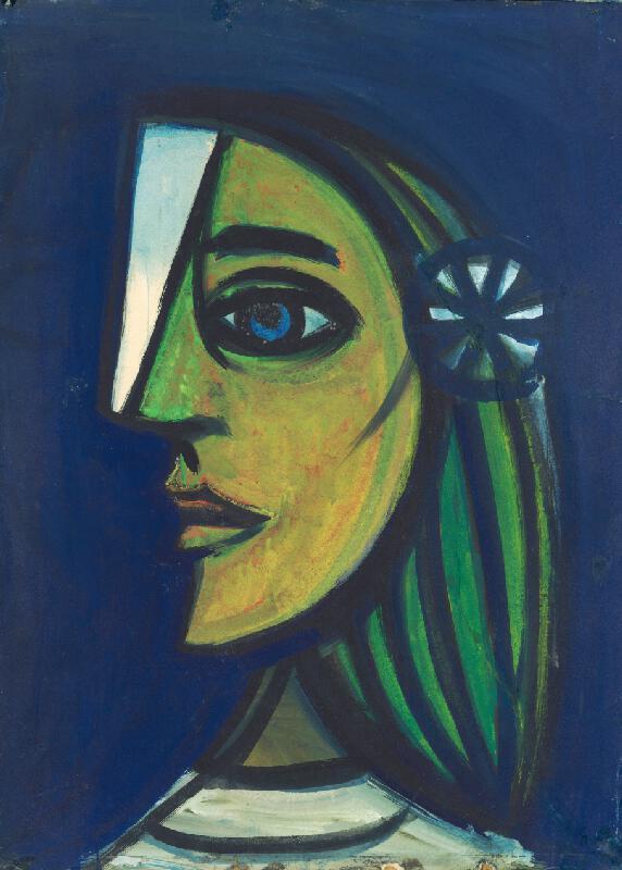 Ladislav Guderna - Dievča s kvetinou