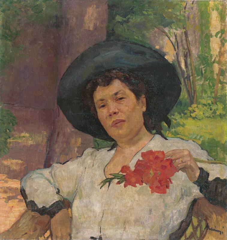 Viktor Belányi - Podobizeň manželky