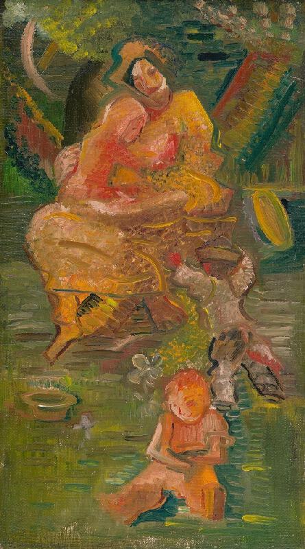 Arnold Peter Weisz-Kubínčan - Matka s deťmi