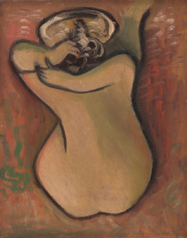 Mikuláš Galanda - Umývajúca sa žena