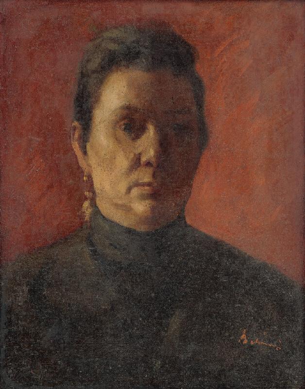 Viktor Belányi - Podobizeň umelcovej matky