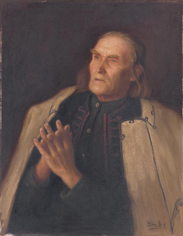 Štefan Straka - Modliaci sa sedliak