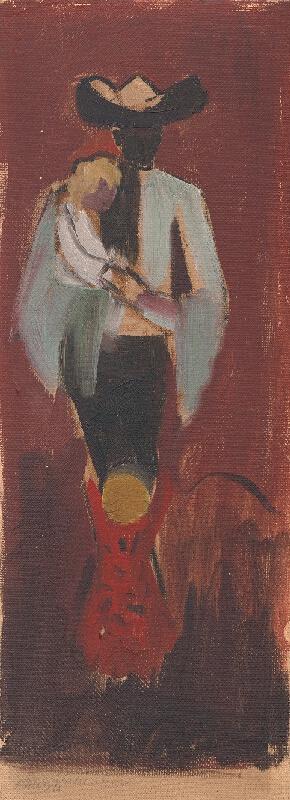 Arnold Peter Weisz-Kubínčan - Figurálna štúdia