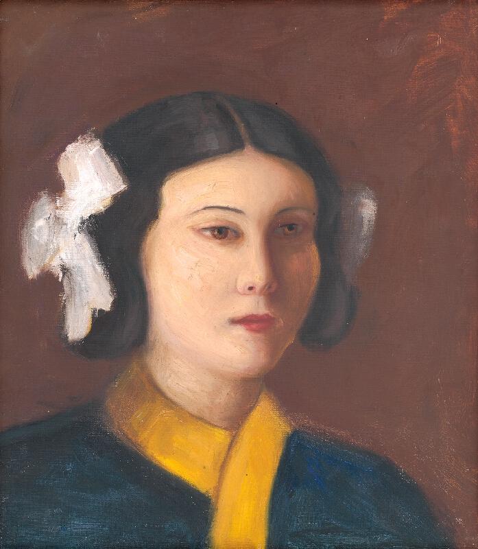 Štefan Straka - Portrét slečny Vickovej