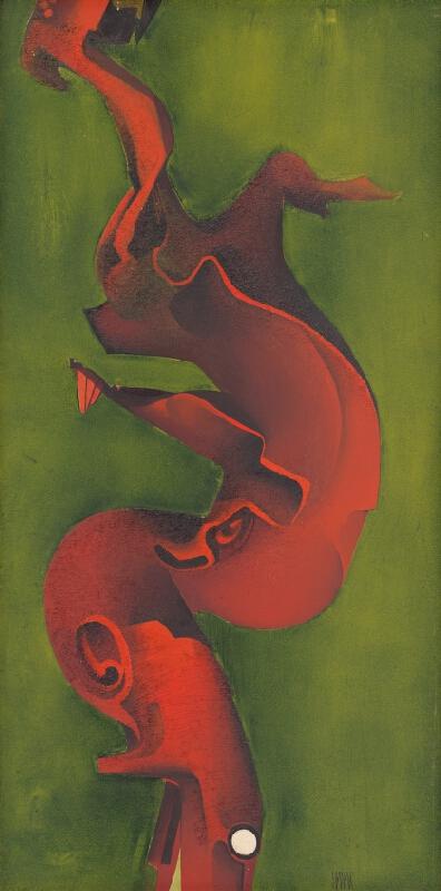 Ján Hanák - Červený tvar