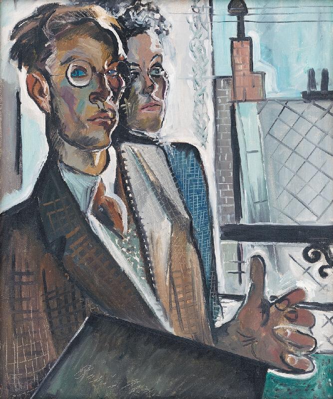 Imrich Weiner-Kráľ - Dvojportrét