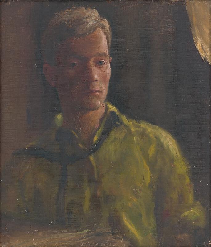 Štefan Straka - Autoportrét