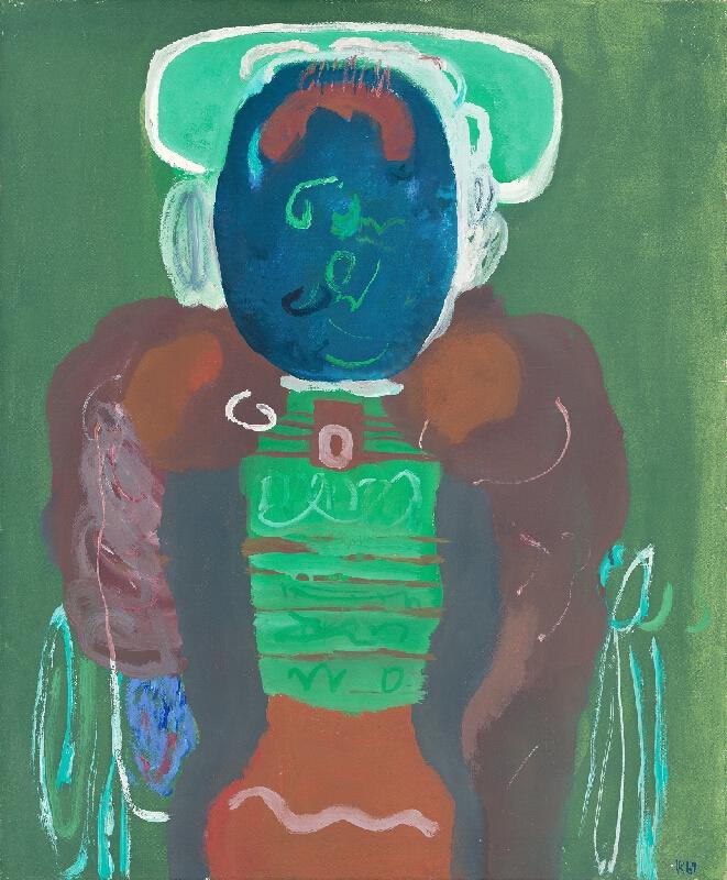 Viera Kraicová - Modrá tvár