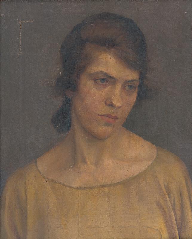 Ladislav Treskoň - Portrét ženy