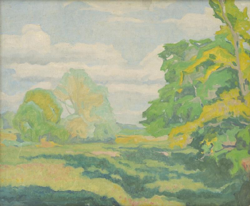 Július Koreszka - Jarné stromy