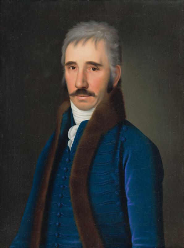 Jozef Czauczik - Portrét pána Alberta Gundelfingena