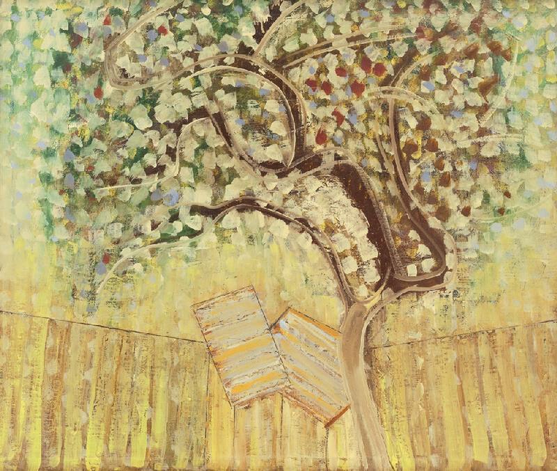 Ľudovít Hološka - Pod jabloňou