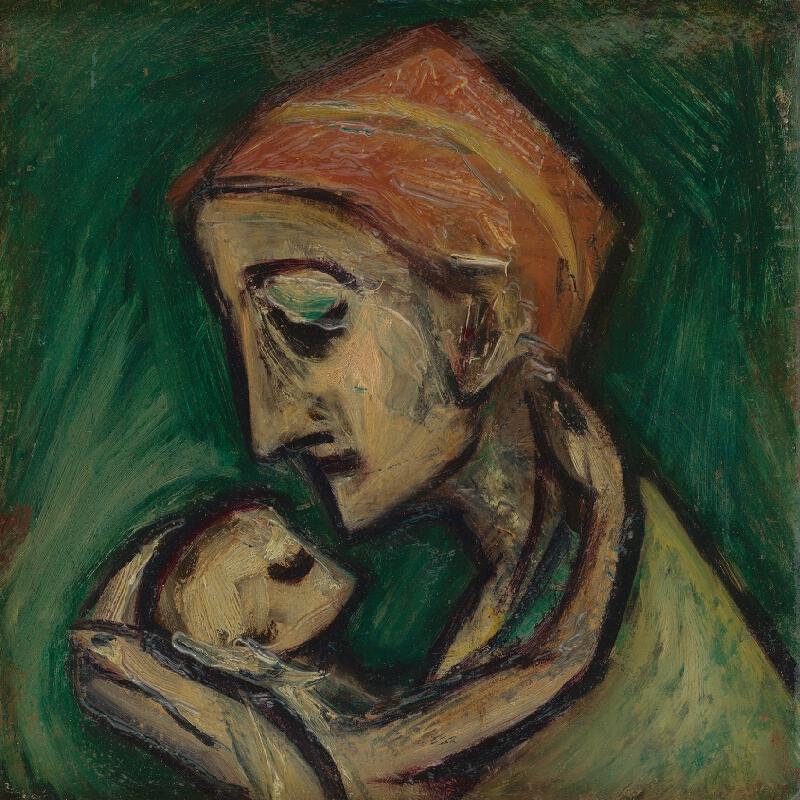 František Studený - Matka s dieťaťom