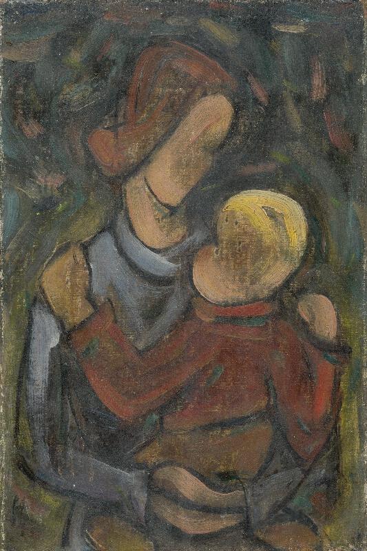 František Studený - Matka a dieťa