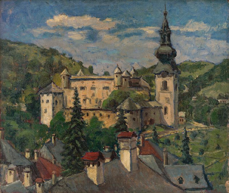 Jozef Kollár - Štiavnický hrad