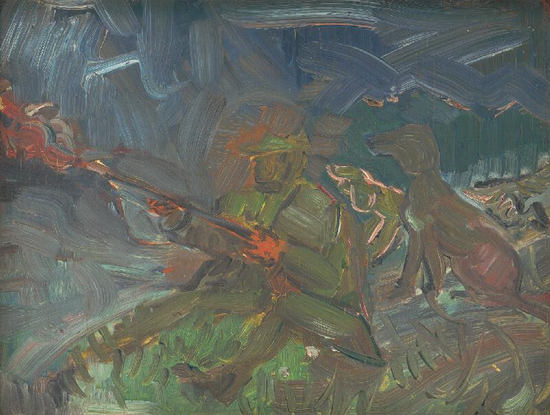 Arnold Peter Weisz-Kubínčan - Výstrel