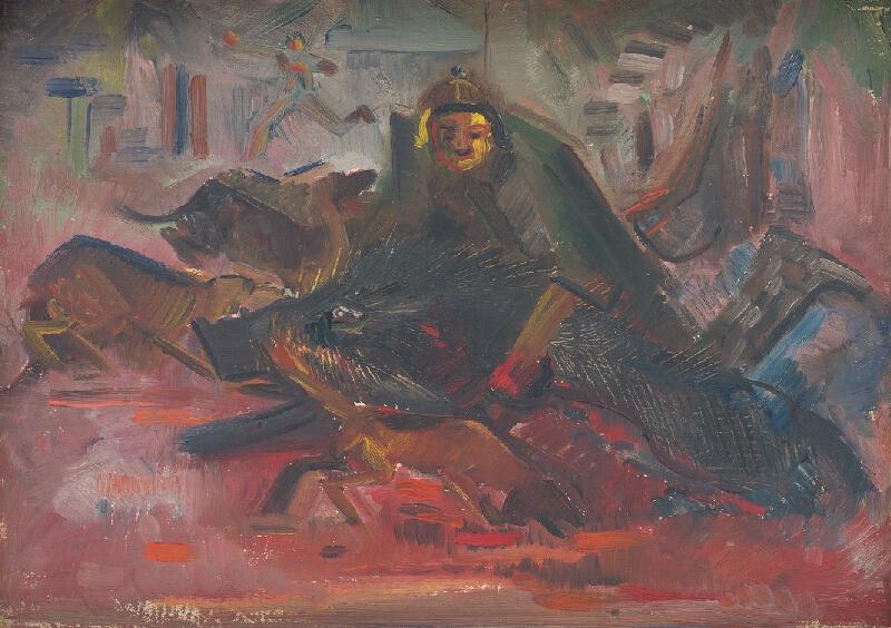 Arnold Peter Weisz-Kubínčan - Lov na diviaka