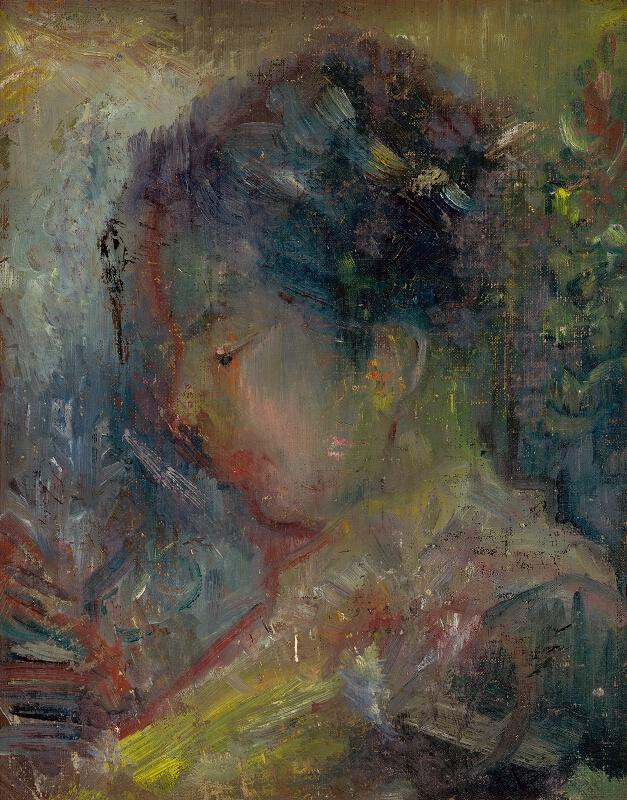 Arnold Peter Weisz-Kubínčan - Hlava ženy z profilu