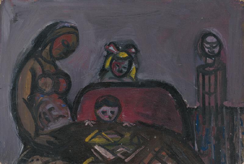 Peter Matejka - Rodina pri stole