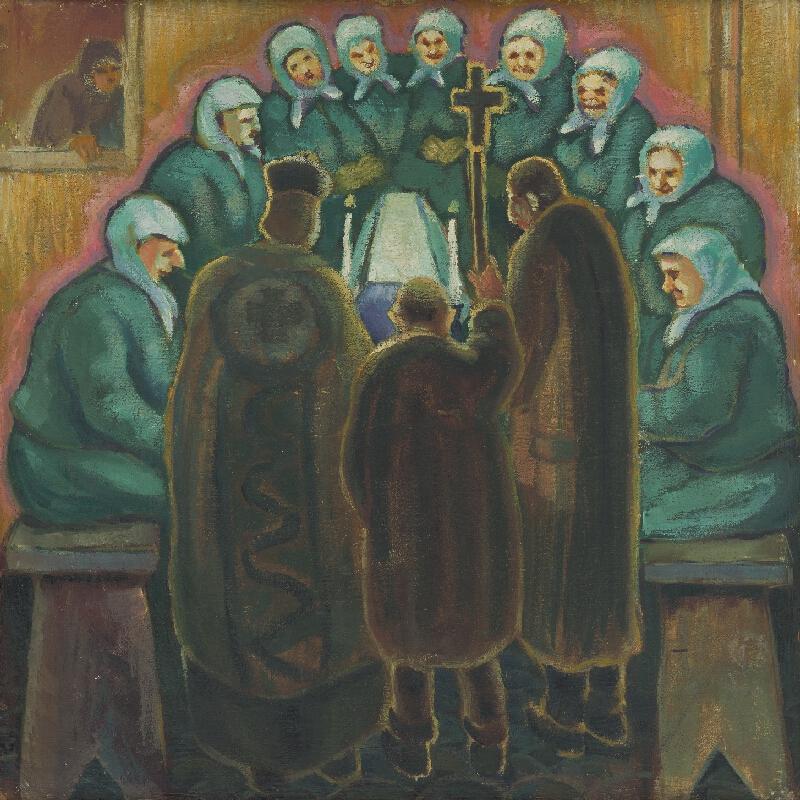 Janko Alexy - Pohreb