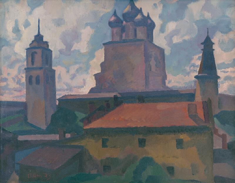 Peter Pavlovič Ossovskij - Pskovský Kremeľ