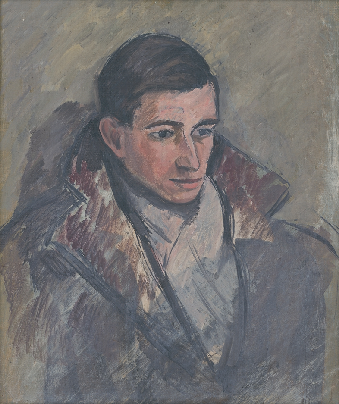Štefan Žambor - Podobizeň maliara J.Ilečku