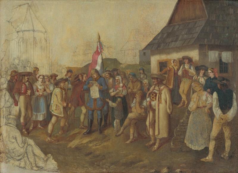 Peter Michal Bohúň - Zhromaždenie slovenského ľudu z jari 1848