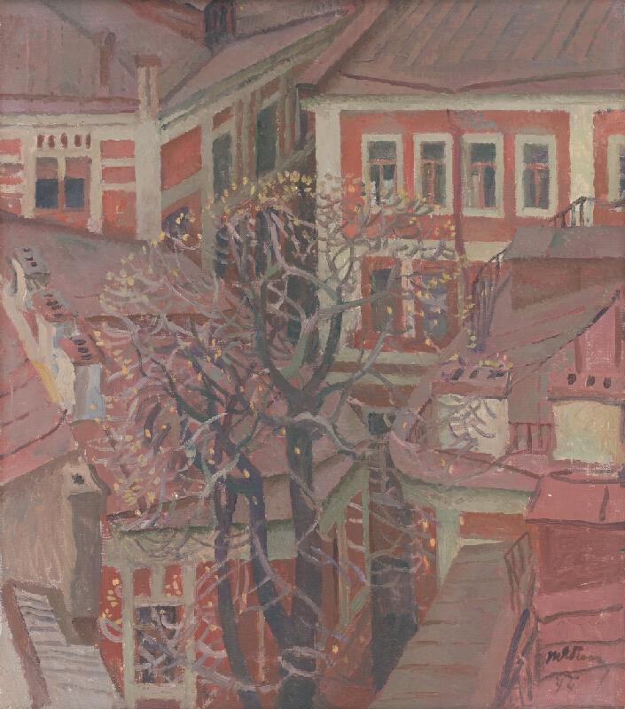 Tatjana Nilovna Jablonskaja - Vyrástol strom