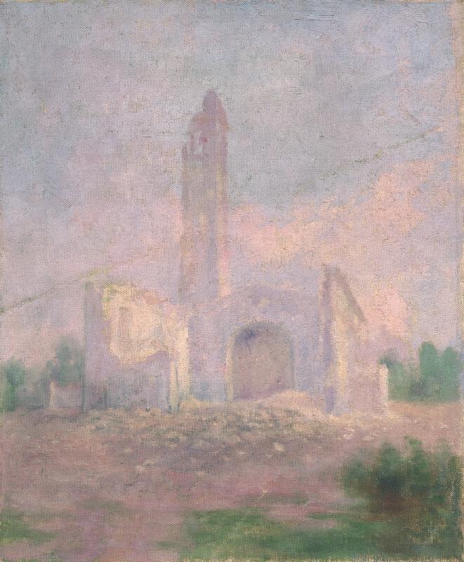 Dezider Czölder - Ruiny kostola