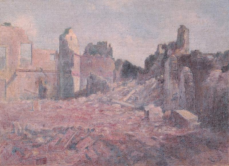 Dezider Czölder - Z talianskeho frontu VIII.
