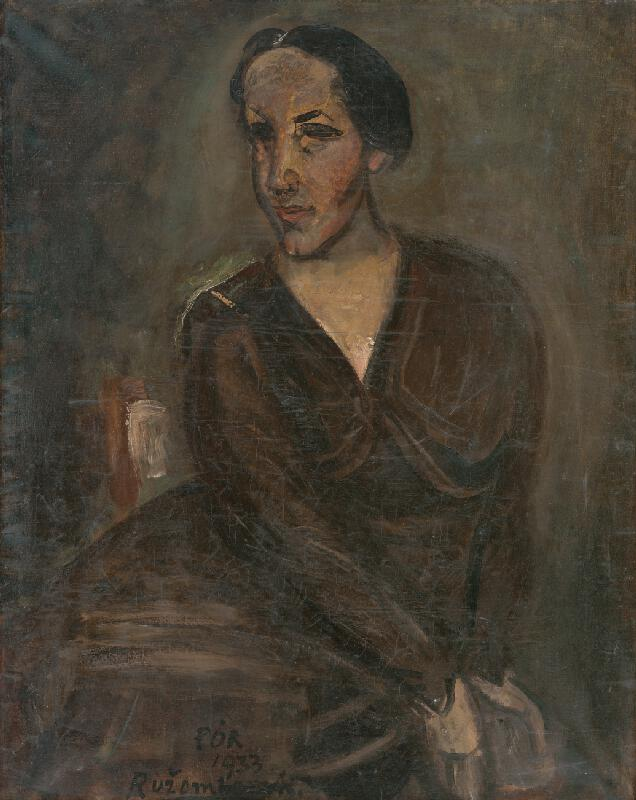 Bertalan Pór - Portrét Dr.G.z Ružomberka